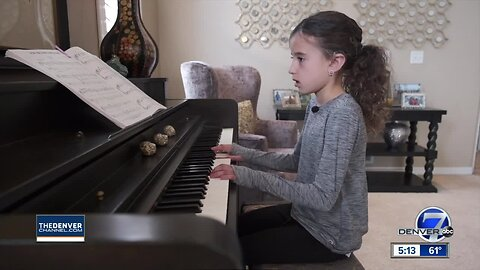 An 8-year-old Colorado girl who was born deaf was chosen for the lead role in a musical