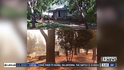 Family loses everything in wildfire