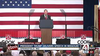Trump debuts tax reform plan in Springfield - Video