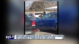 Mom arrested for leaving toddler in car while shopping at metro Detroit Sam's Club - Video