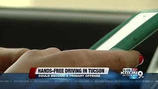 City council members will vote on changing hands-free ordinance to primary offense - Video