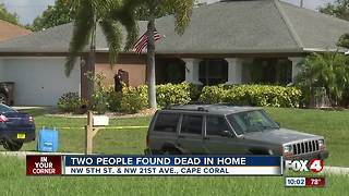 Two people found dead in home - Video