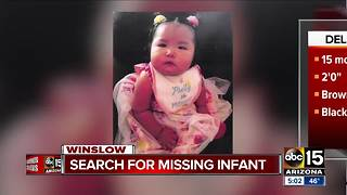 Navajo police searching for missing infant
