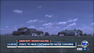 Family to present contaminated water well findings to Colo. oil and gas commissioners - Video