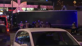 Truck Plows Into Crowed Berlin Christmas Market, At Least 9 Dead and More Than 50 Injured - Video