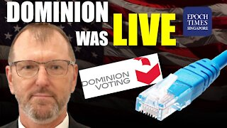 Dominion Voting Machines were LIVE during election