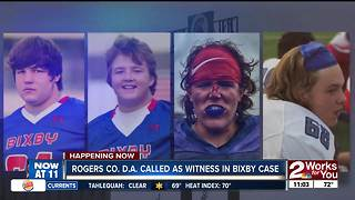 Rogers County DA called as witness in Bixby case - Video