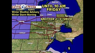 Winter Weather Advisory north