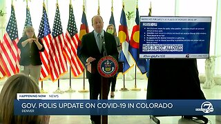 Colorado Gov. Jared Polis COVID-19 update ahead of Passover, Easter