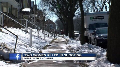 Woman, girlfriend shot and killed by relative near 24th and Auer