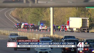 Police release accident report in deadly I-435 crash