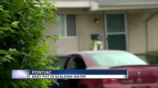 Pontiac mother accused of burning 1-year-old son - Video