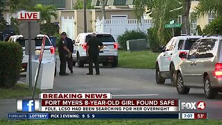 Fort Myers 8-year-old girl found safe