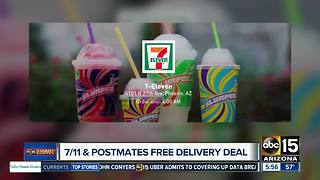 Get FREE delivery from 7-Eleven with Postmates - Video