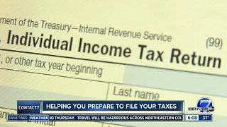 Helping you prepare your taxes