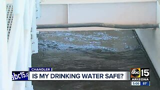 City of Chandler issues drinking water warning