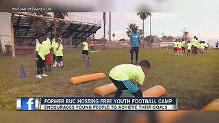 Former Tampa Bay Buccaneer Louis Murphy, Jr. hosting annual free camp, youth summit - Video