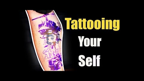 ✅Tattooing yourself!!! 👀With Tips and tricks for tattooing!!👀