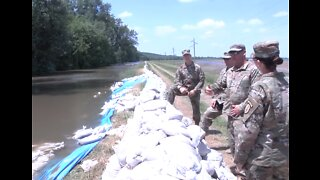 Illinois National Guard Helps Flood Relief Efforts