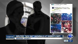 Denver deputies disciplined after calling in sick, getting caught on trip to Las Vegas - Video