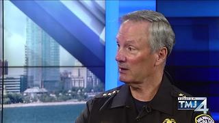 TODAY'S TMJ4's Shannon Sims one-on-one with Milwaukee Police Chief Ed Flynn - Video