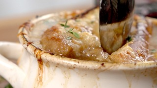 Crockpot French Onion Soup - Video