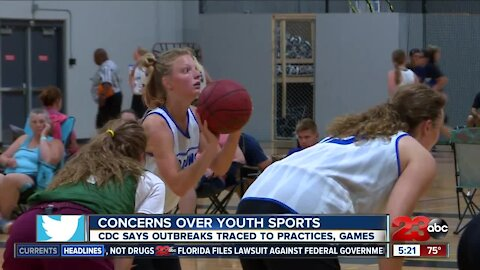 Concerns over youth sports, CDC says outbreak traced to practices and games
