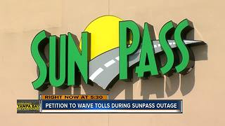 Florida man wants state to 'forgive' Sunpass transactions after outage, starts online petition - Video