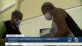 Logan Heights church helps in push to get more Black San Diegans vaccinated