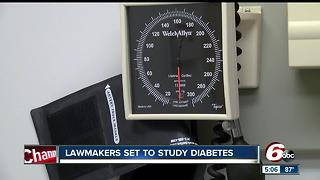 Lawmakers set to study diabetes - Video