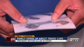 Loved ones say mom and unborn child were killed by suspected DUI driver - Video