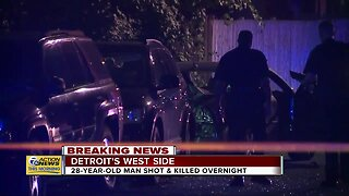 28-year-old man shot, killed overnight in Detroit