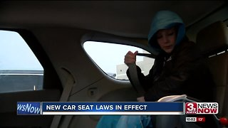 Parents react to new child passenger safety laws in Nebraska