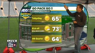 Cameron's Weather Roadshow at Lambeau Field for Kickoff Weekend - Video