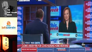 Struggleboating: Psaki Treads Water After ABC's Karl Asks About Andrew Cuomo