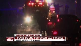 Three reported dead after plane crashes headed for Green Bay