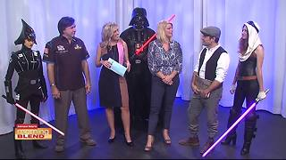 Star Wars invades the Morning Blend - Video