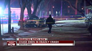 West Allis man killed after crashing into tree during overnight police chase