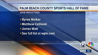 Palm Beach County HOF Inductees - Video