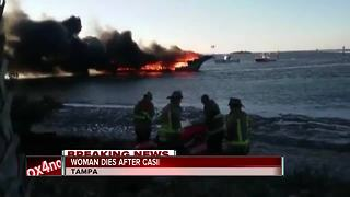 Passenger from casino boat fire dies - Video