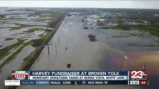 The Broken Yolk Cafe hosts fundraiser to help those stuck in shelters because of Hurricane Harvey - Video