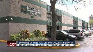 Shortage of Child Protection Investigators puts children in danger - Video