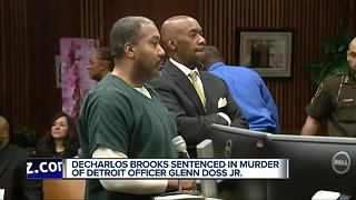 Man sentenced to up to 60 years in prison for death of Detroit Police Officer Glenn Doss