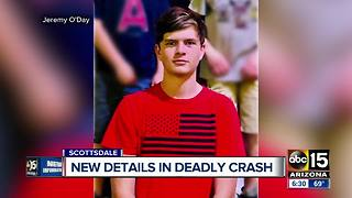 Police report identifies teenager killed in Scottsdale crash - Video