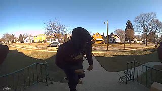 Milwaukee Police officers need help identifying a porch pirate suspect