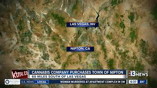Cannabis company purchases California town - Video