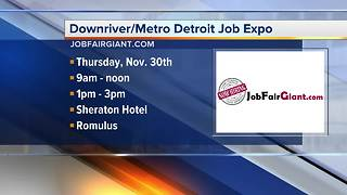 Workers Wanted: Downriver/Metro Detroit Job Expo - Video