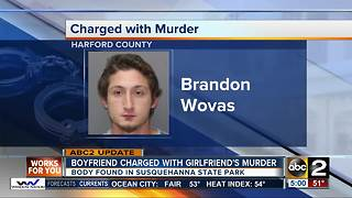 Boyfriend charged with girlfriend's murder - Video