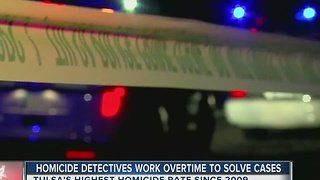 Homicide Detectives Work Overtime To Solve Cases - Video