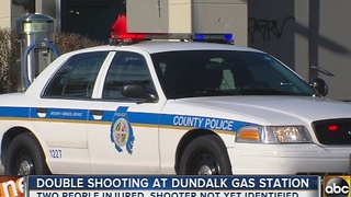 Baltimore County Police investigating double shooting in Dundalk - Video